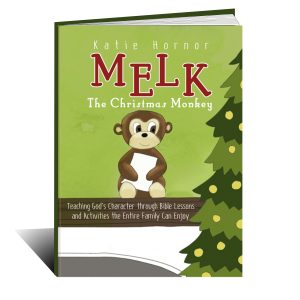 melk the christmas monkey by katie hornor